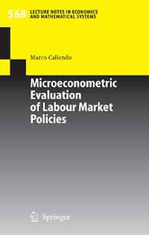 Téléchargez le livre :  Microeconometric Evaluation of Labour Market Policies
