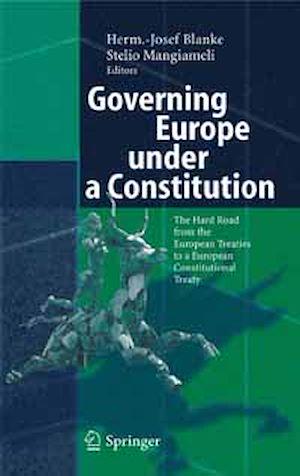 Téléchargez le livre :  Governing Europe under a Constitution