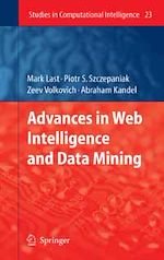 Télécharger le livre :  Advances in Web Intelligence and Data Mining