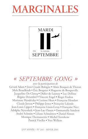 Téléchargez le livre :  Septembre Gong