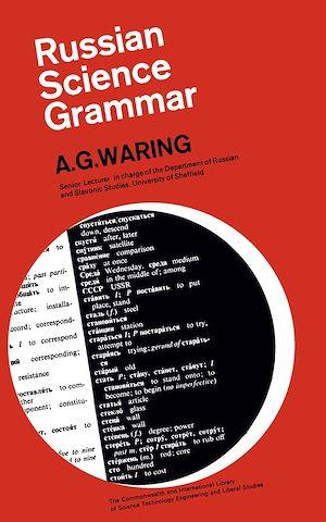 Téléchargez le livre :  Russian Science Grammar