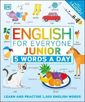 Téléchargez le livre :  English for Everyone Junior 5 Words a Day