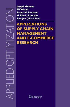 Téléchargez le livre :  Applications of Supply Chain Management and E-Commerce Research