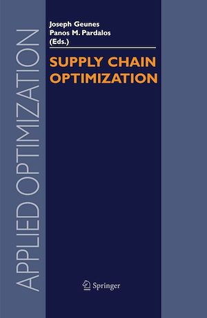 Téléchargez le livre :  Supply Chain Optimization