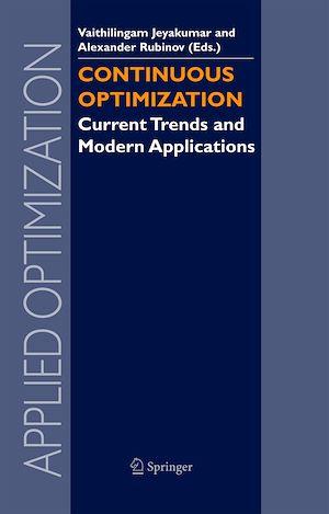 Téléchargez le livre :  Continuous Optimization