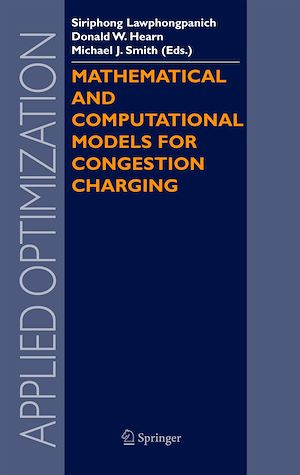 Téléchargez le livre :  Mathematical and Computational Models for Congestion Charging