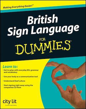 Téléchargez le livre :  British Sign Language For Dummies