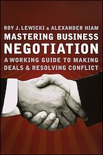 Télécharger le livre :  Mastering Business Negotiation