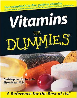 Téléchargez le livre :  Vitamins For Dummies