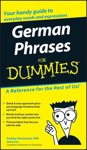 Téléchargez le livre :  German Phrases For Dummies