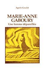 Télécharger le livre :  Marie-Anne Gaboury