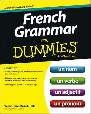 Téléchargez le livre :  French Grammar For Dummies