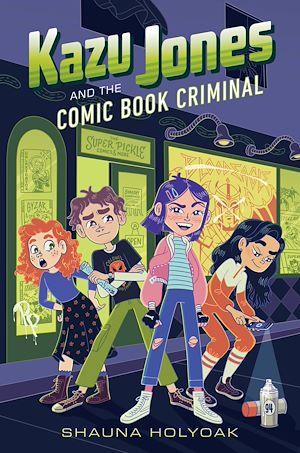Téléchargez le livre :  Kazu Jones and the Comic Book Criminal