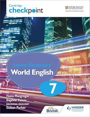 Téléchargez le livre :  Cambridge Checkpoint Lower Secondary World English Student's Book 7