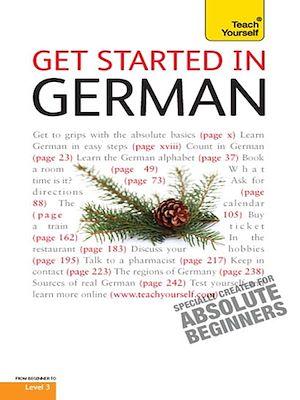 Téléchargez le livre :  Get Started in Beginner's German: Teach Yourself