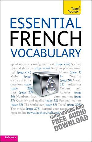 Téléchargez le livre :  Essential French Vocabulary: Teach Yourself