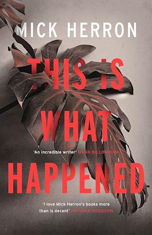 Téléchargez le livre :  This is What Happened