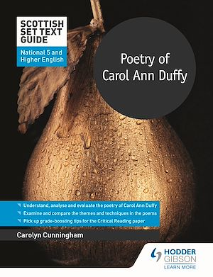 Téléchargez le livre :  Scottish Set Text Guide: Poetry of Carol Ann Duffy for National 5 and Higher English