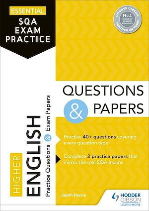 Téléchargez le livre :  Essential SQA Exam Practice: Higher English Questions and Papers