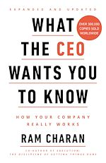 Télécharger le livre :  What the CEO Wants You to Know