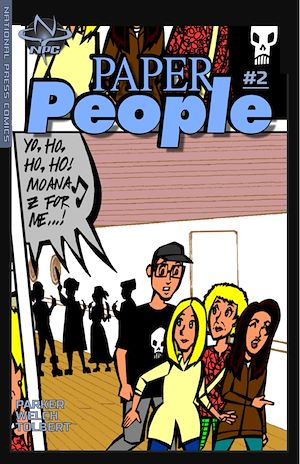 Téléchargez le livre :  Paper People #2