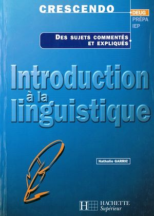 Téléchargez le livre :  Introduction à la linguistique