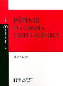 Téléchargez le livre numérique:  Mémento des grandes oeuvres politiques