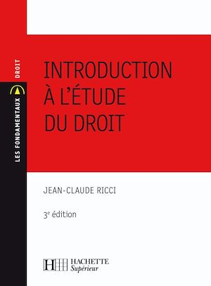 Téléchargez le livre :  Introduction à l'étude du droit