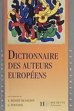 Télécharger cet ebook : Dictionnaire des auteurs européens