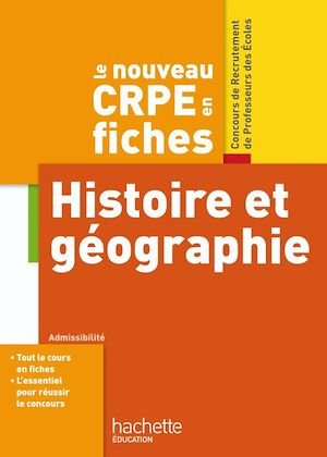 Téléchargez le livre :  CRPE en Fiches Histoire Géographie