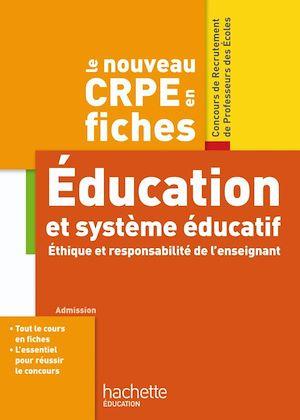 Téléchargez le livre :  CRPE en Fiches Système éducatif