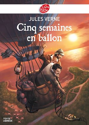 Téléchargez le livre :  Cinq semaines en ballon - Texte Abrégé