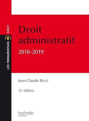 Téléchargez le livre :  Les Fondamentaux - Droit administratif général 2018-2019