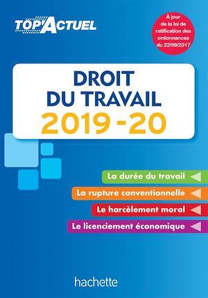 Téléchargez le livre :  Top'Actuel Droit Du Travail 2019-2020