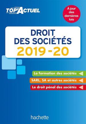 Téléchargez le livre :  Top'Actuel Droit Des Sociétés 2019-2020