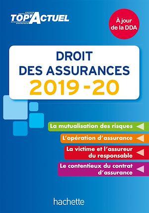 Téléchargez le livre :  Top'Actuel Droit des assurances 2019-2020