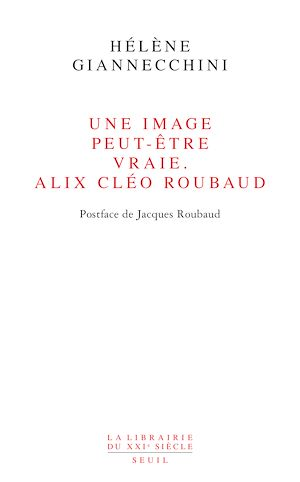 Téléchargez le livre :  Une image peut-être vraie. Alix Cléo Roubaud. Postface de Jacques Roubaud