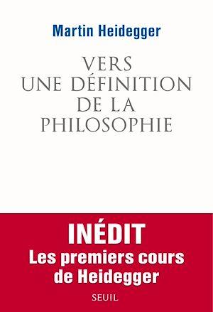Téléchargez le livre :  Vers une définition de la philosophie