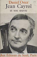 Télécharger le livre :  Jean Cayrol et son œuvre