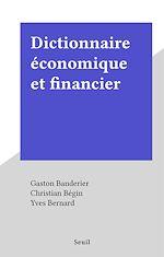 Télécharger le livre :  Dictionnaire économique et financier