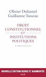 Télécharger le livre :  Droit constitutionnel et institutions politiques