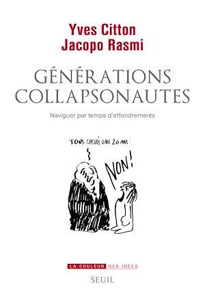 Téléchargez le livre :  Générations collapsonautes. Naviguer par temps d'effondrements