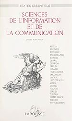 Télécharger le livre :  Sciences de l'information et de la communication