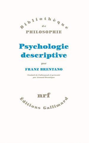 Téléchargez le livre :  Psychologie descriptive