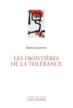 Téléchargez le livre :  Les frontières de la tolérance