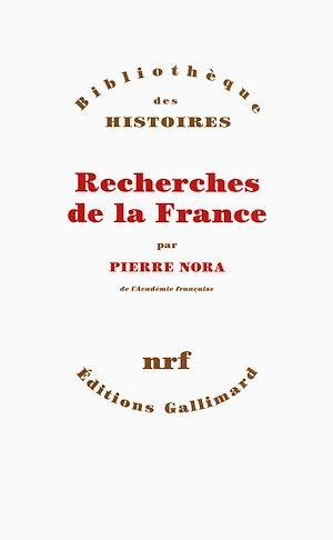 Téléchargez le livre :  Recherches de la France