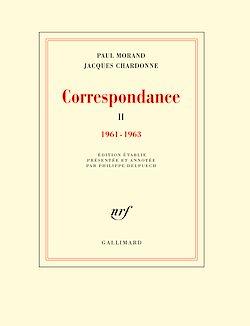Téléchargez le livre numérique:  Correspondance (Tome 2) - 1961-1963