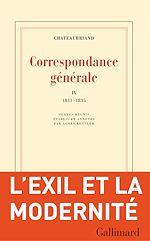 Télécharger le livre :  Correspondance générale (Tome IX) - 1831-1835