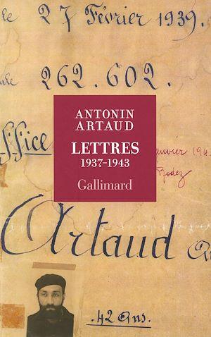 Téléchargez le livre :  Lettres 1937-1943