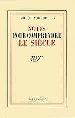 Télécharger le livre :  Notes pour comprendre le siècle